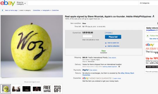 eBay Apple