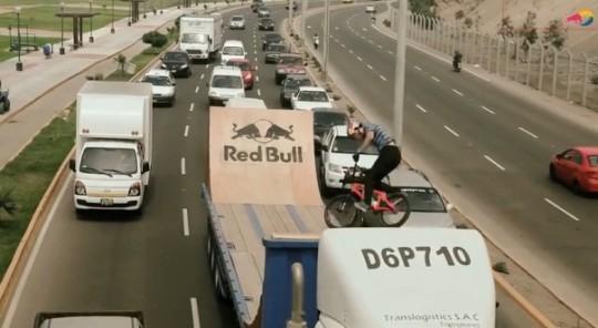 Daniel Dhers camión