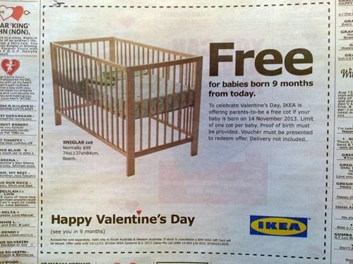 Ikea San Valentín