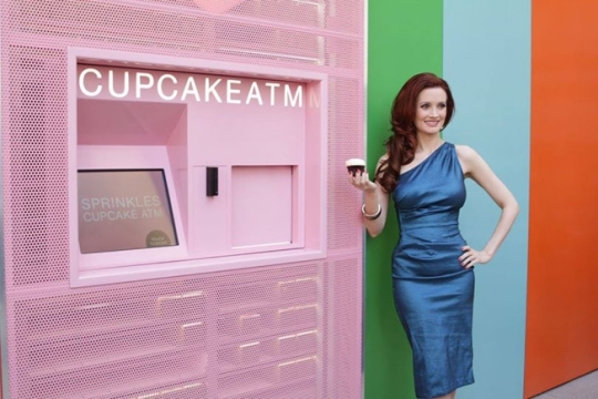 Cajero automático de cupcakes