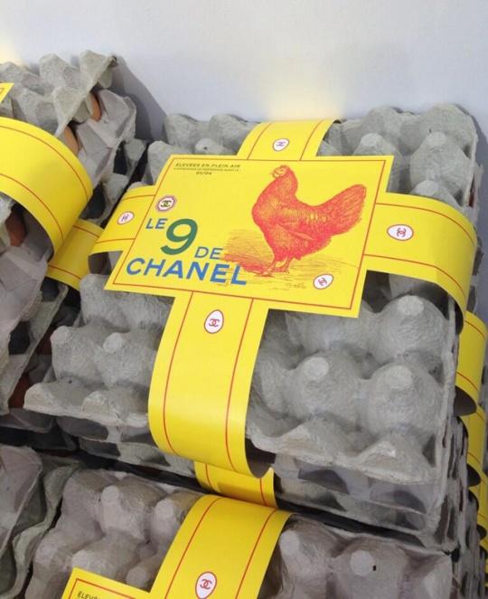 Chanel eggs