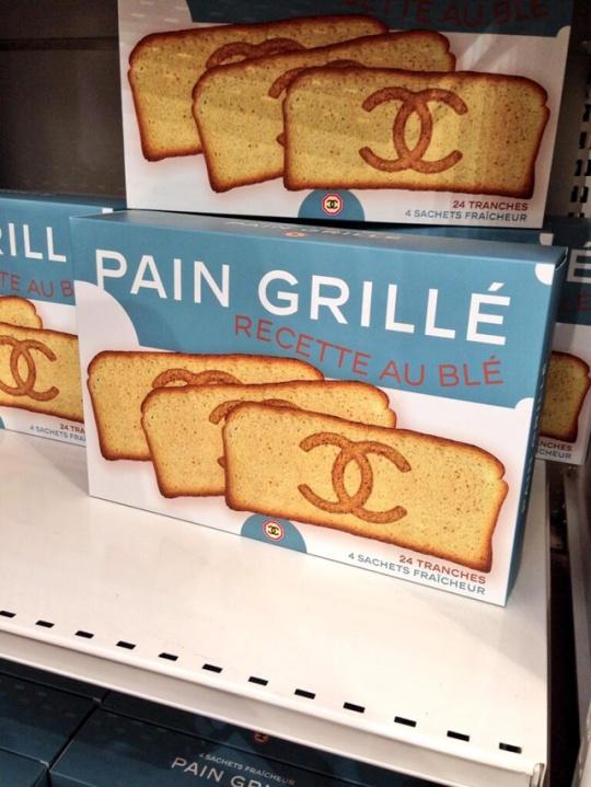 Chanel bread