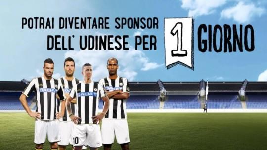 Patrocinio Udinese