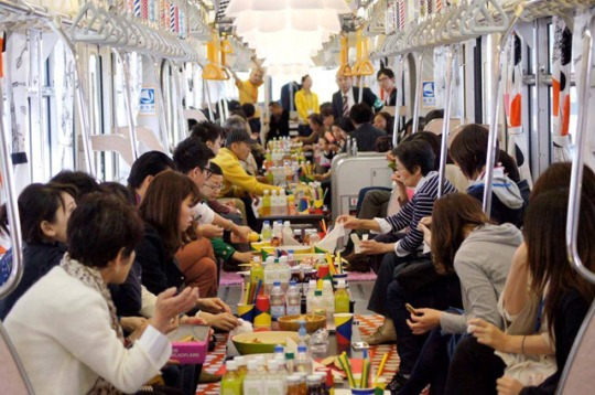 Ikea tube Tokyo