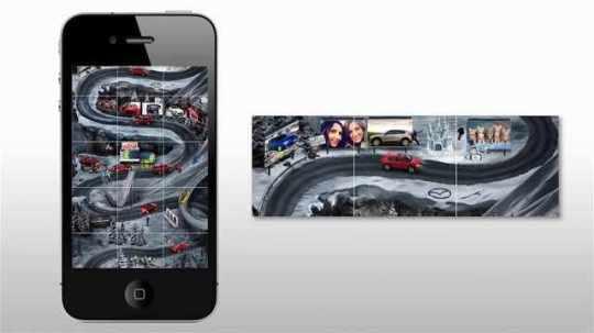 Mazda: Instagram road