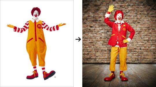 Nuevo Ronald McDonald