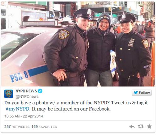 NY police tweet