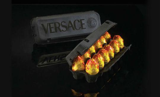 versace eggs