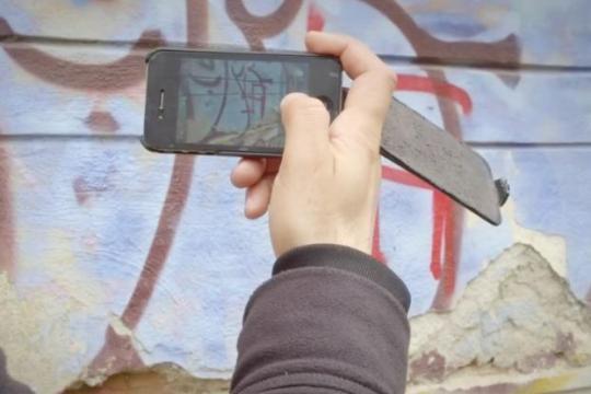 Limpiador de graffiti