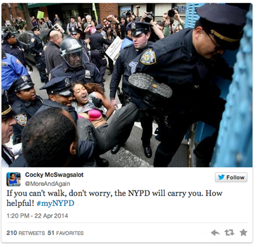 New york police twitter