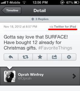 Oprah fail