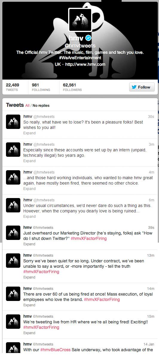 Despidos twitter