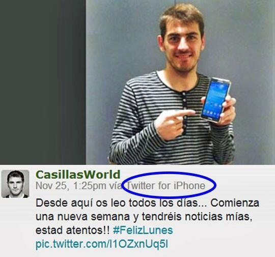Casillas iphone