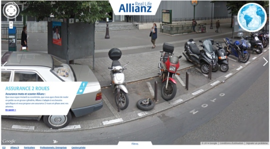 Google Streetview insurance