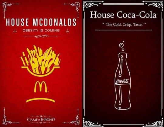 McDonalds Coca Cola
