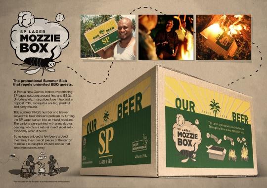 Cerveza antimosquitos