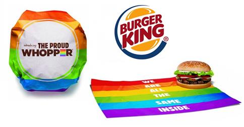 Gay pride Burger King