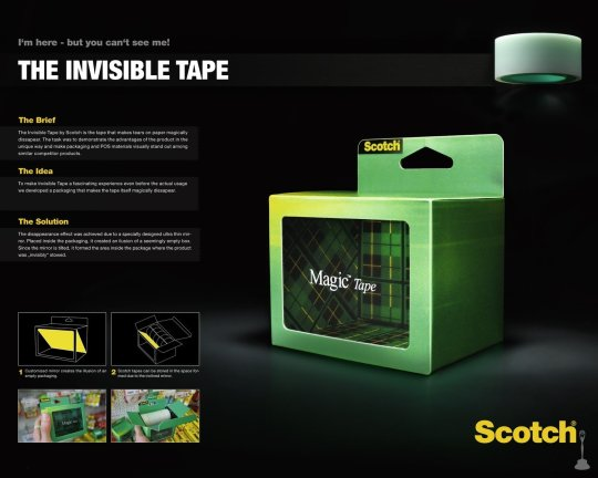 the invisible tape