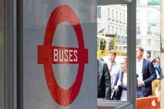 bus station lego