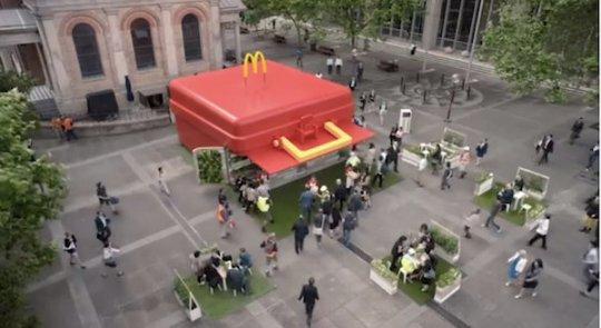 McDonalds restaurante