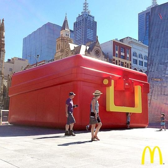 McDonalds box