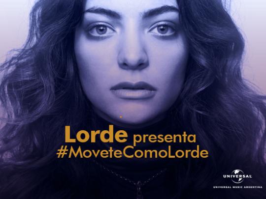 Muévete como Lorde