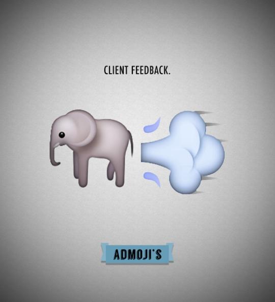 Admoji feedback
