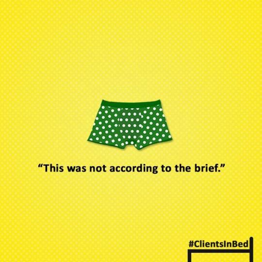 #clientsinbed
