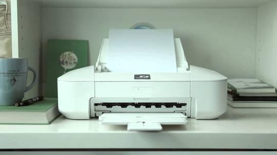 Impresora tinta invisible