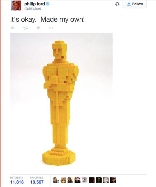Oscar Lego