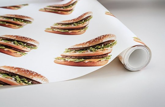 papel pared big mac