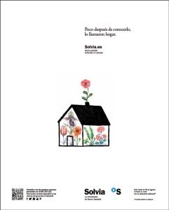 solvia casas con flores
