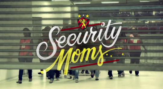 Madres guardias de seguridad