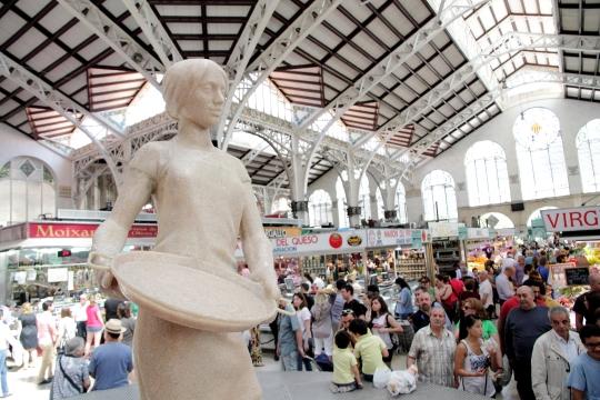 0 escultura lateral