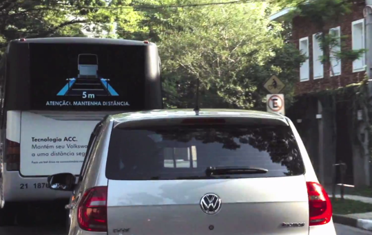 distancia seguridad volkswagen