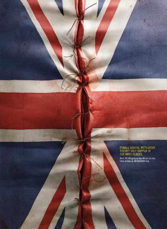flag mutilation