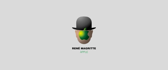 magritte apple