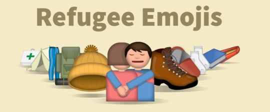 Emojis refugiados