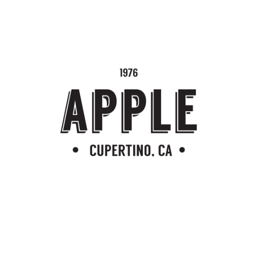 apple hipster logo