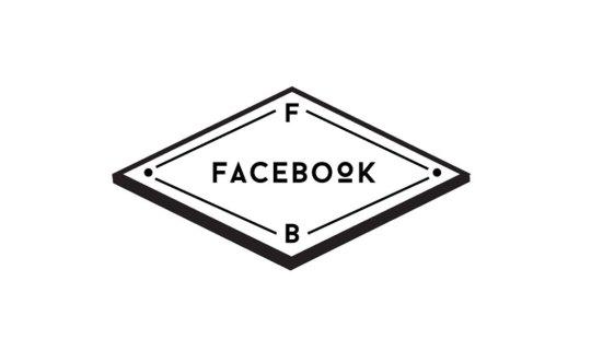 facebook hipster logo