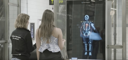 Real Time Posture Scanner