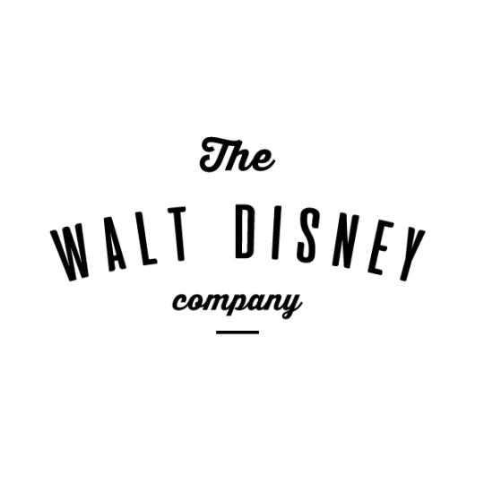 walt disney hipster logo