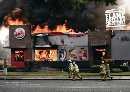 Burger King oregon