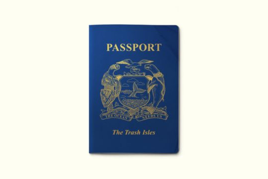 passport trash isles