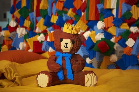 lego room bear