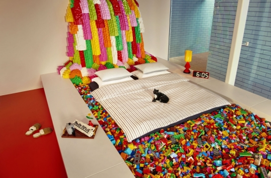 lego room bed