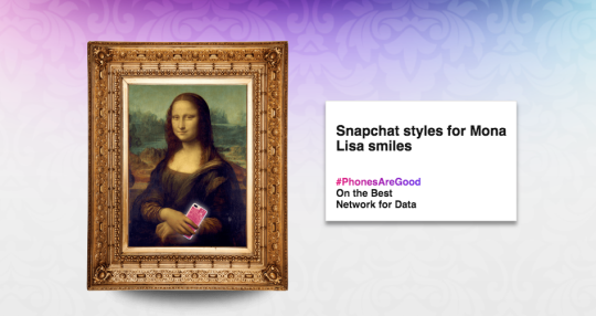 three mona lisa